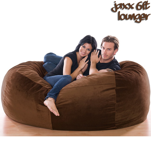6FT VELVISH BEANBAG-ESPRSO