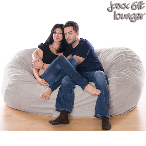 6FT VELVISH BEANBAG-WHEAT