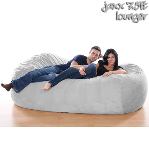 7.5FT VELISH BEANBAG-GRAY