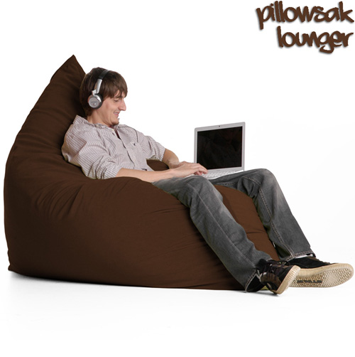 Jaxx Pillow Sac - Chocolate