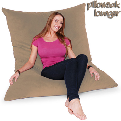 PILLOW SAC-VELVISH WHEAT