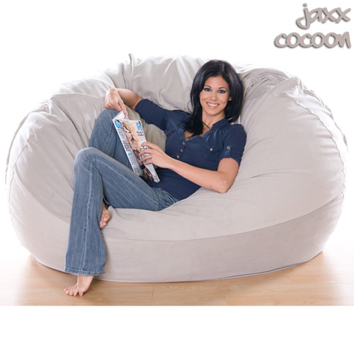 6X1 BEANBAG-VELVISH GRAY