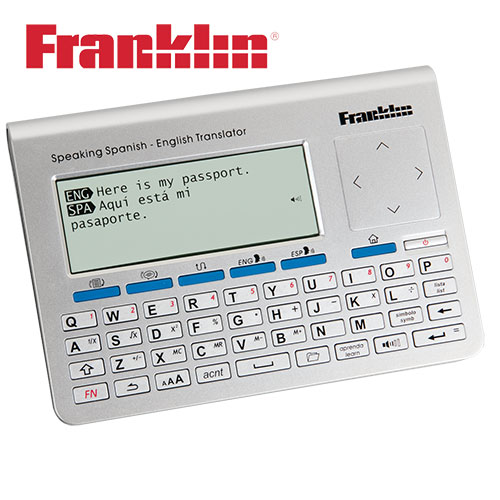 Franklin TES-700 Spanish English Translator