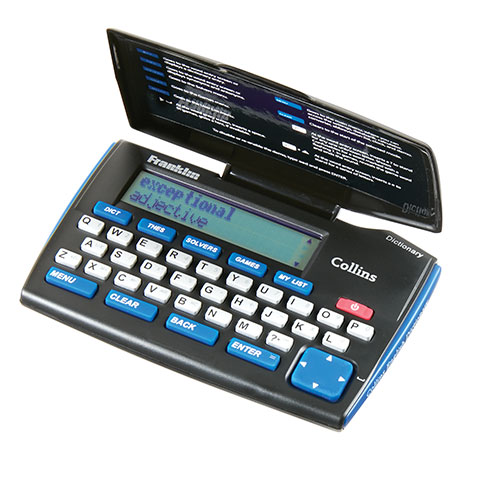 Franklin Electric English Dictionary with Thesaurus