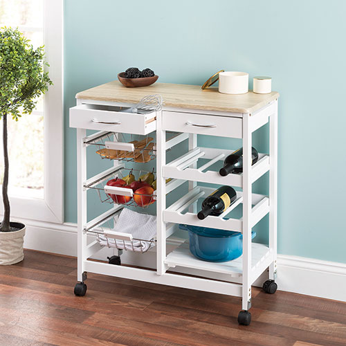 Home Basics Kitchen Trolley