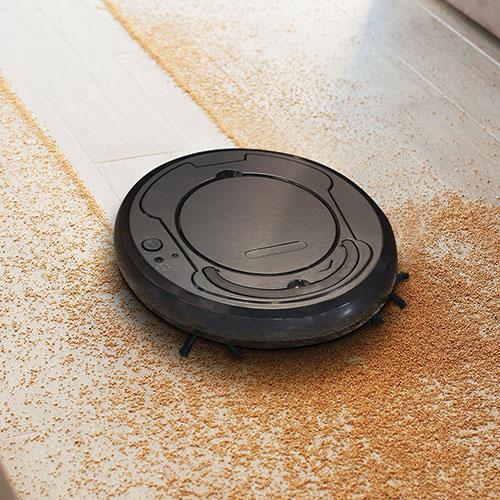 Eternal Home Essentials Rechargeable Robotic Vacuum