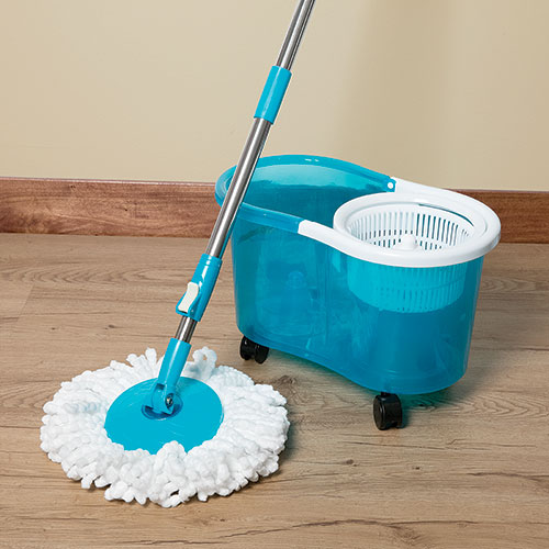 Viatek Clean Spin 360 Mop with Wheels