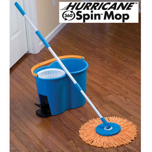 360-Degree Spin Mop