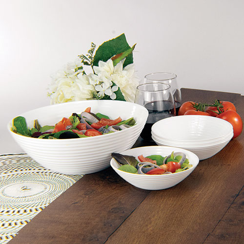 Luminarc 5 Piece Pasta Bowl Set