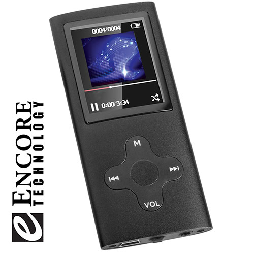 Encore MP2618 MP3 Player with FM Radio