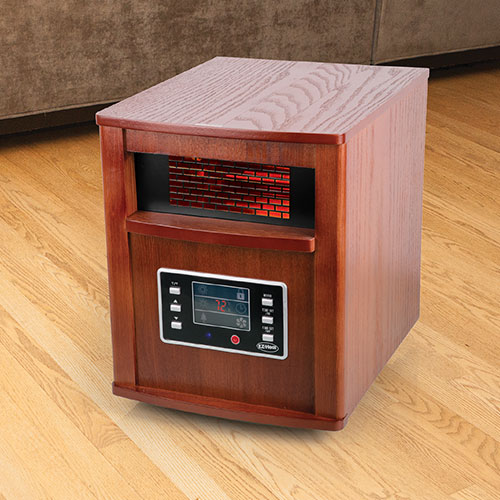 EZ Heat 1500W Quartz 6-Element Cabinet Heater
