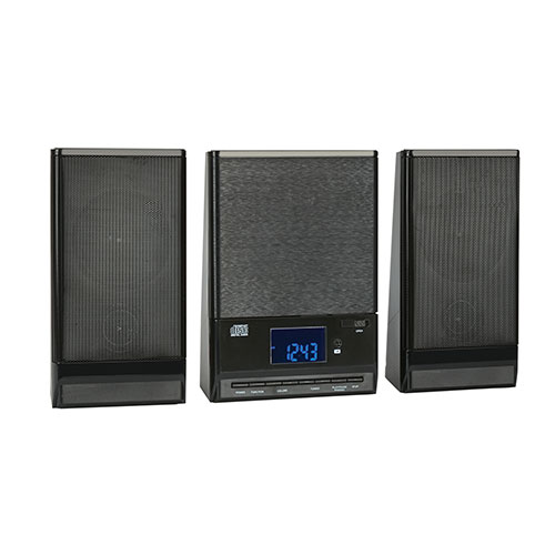 Onn CD/FM Mini Stereo with Bluetooth