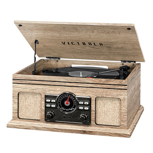 Victrola Record Player/Stereo with Bluetooth
