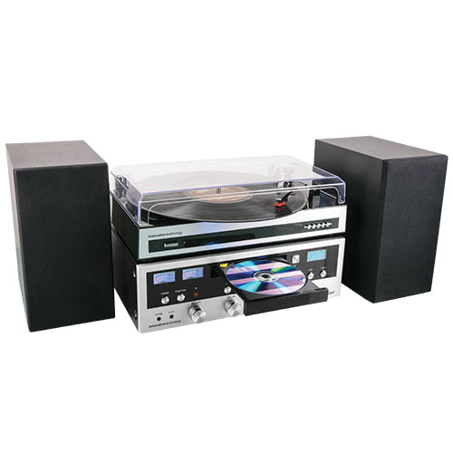 Innovation Technology Classic Stereo Turntable with Bluetooth