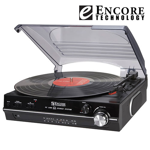 Encore 2698 Turntable with Radio