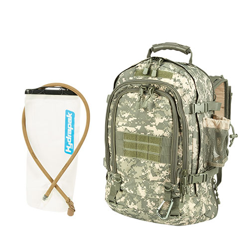 Mercury Luggage Tactical Pack with Hydrapak
