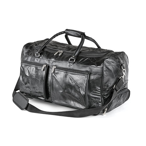 Embassy 21 inch Leather Rolling Duffle