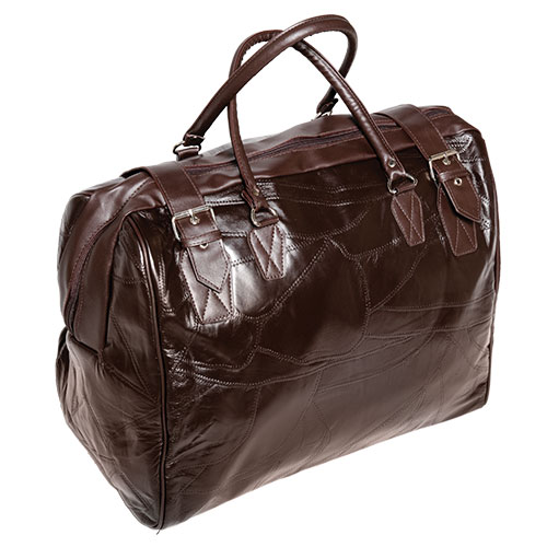 Weekend Brown Leather Bag