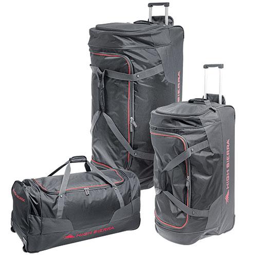 High Sierra Wheeled Duffel Bag- 3 Pack