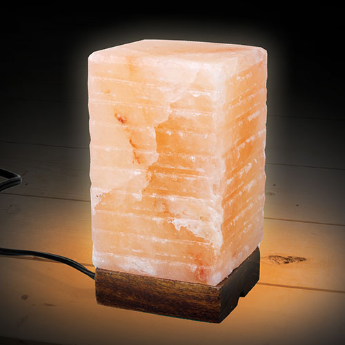 Umaid Square Shaped Salt Lamp