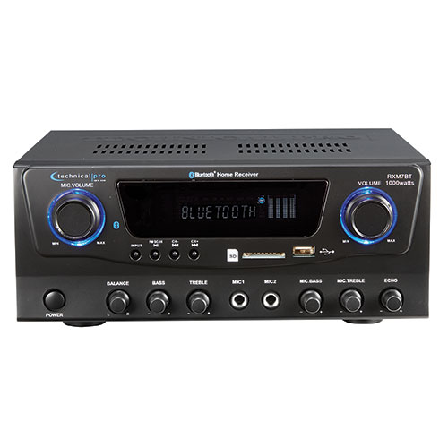 Technical Pro Stereo Receiver with Bluetooth