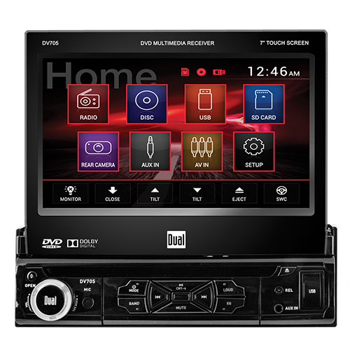 Single DVD Car Stereo Player