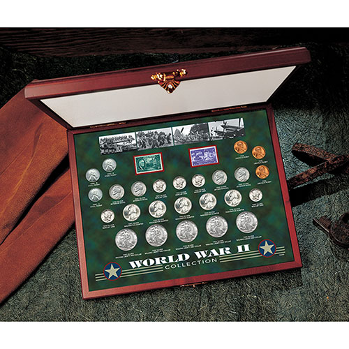 American Coin Treasures World War II Coin & Stamp Collection