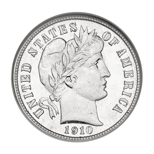 American Coin Treasures The Barber Dime Collection
