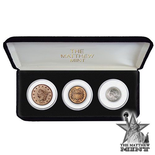 The Matthew Mint 3-Coin Set