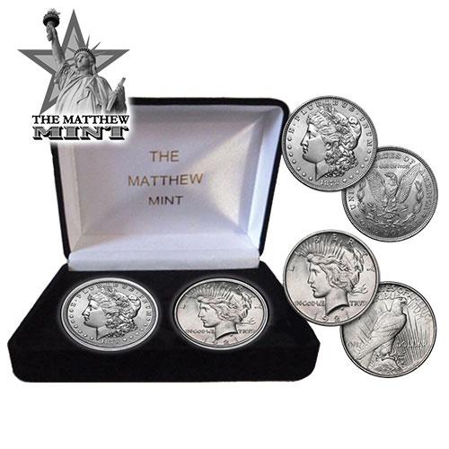 Morgan/Peace Coin Set