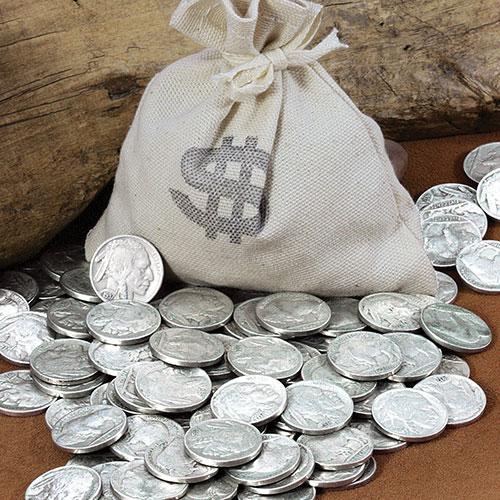 Bankers Bag of 20 Buffalo Nickels