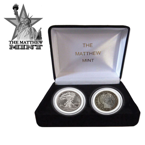 Barber/Liberty Half Dollar Set