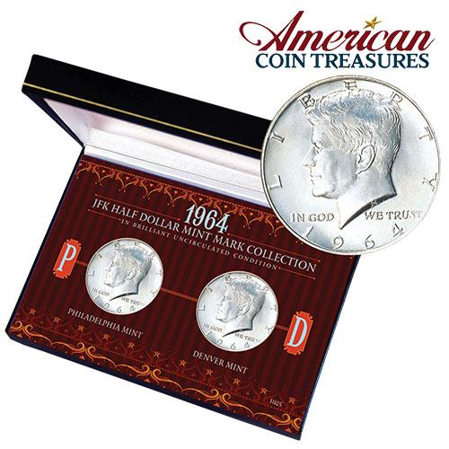 JFK 1/2 Dollar Set