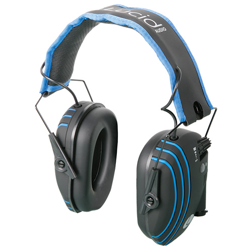 Lucid Audio Bluetooth Amplified Wireless Headphones