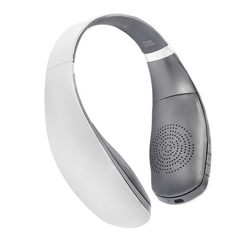 Leme EB30A White Wireless Bluetooth Headphones