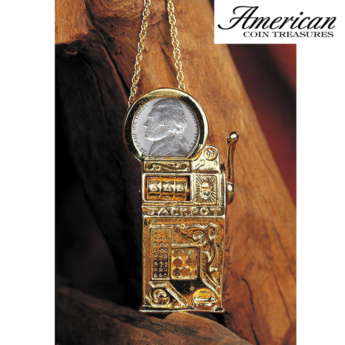 Pin/ Pendant Jefferson Necklace