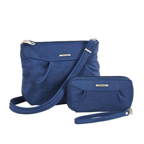 Travelon Anti-Theft Crossbody Bag and Wallet