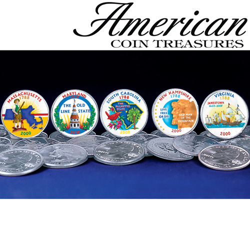 2000 Color State Quarters