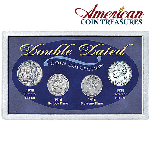 American Coin Treasures Double Dated Coins