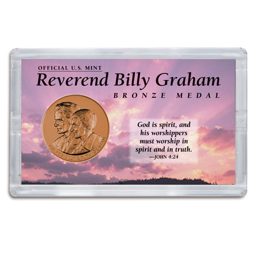 Billy Graham Medal in 3