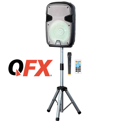 QFX PBX-1205 Rechargeable Party Speaker - 12 Inch