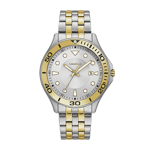 Caravelle Two-Tone Men's Watch