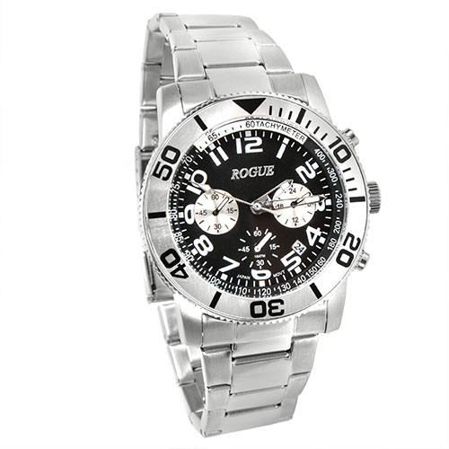 Rogue RGC40053 Men's Silver Diver Chrono Watch
