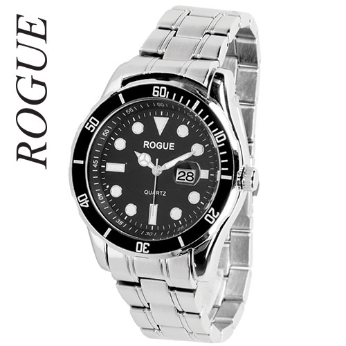 Rogue Men's Black Dial Divers Watch