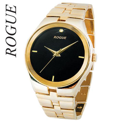 Rogue Men's Gold Diamond Watch