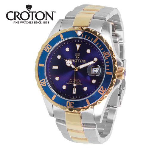 Croton 2-Tone Watch