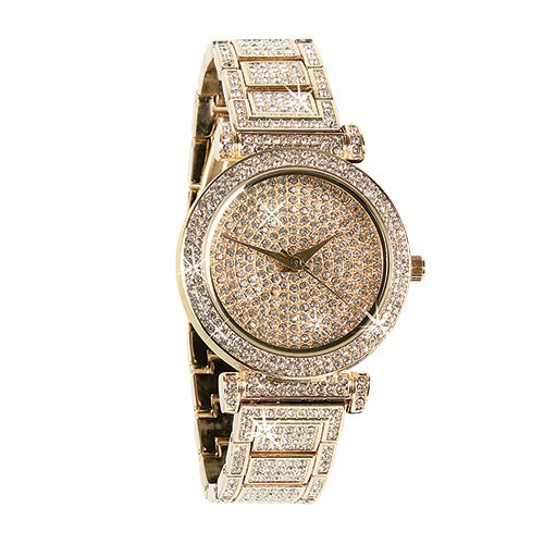 St. Lucia Women's Gold Watch Set