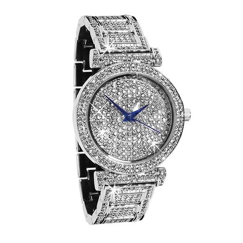St. Lucia Women's Crystal Watch Set
