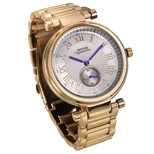 Rogue Sub-Dial Watch - Gold
