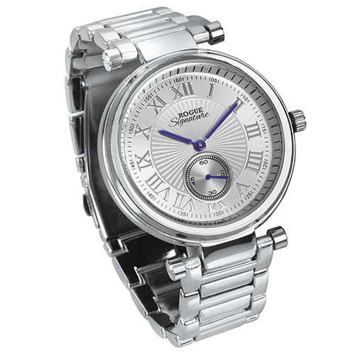 Rogue Sub-Dial Watch - Silver